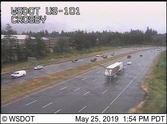 US 101 at Crosby Blvd @ MP 366.6 - Washington