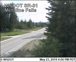 Metaline Falls on SR 31 @ MP 16.69 - Washington
