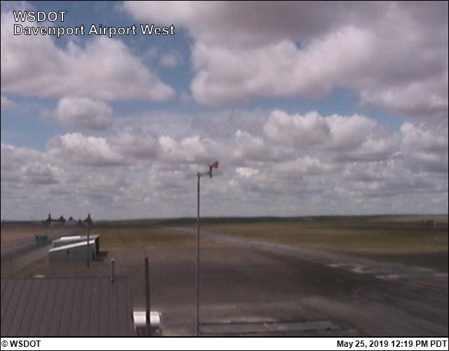 Davenport Airport - West - Washington