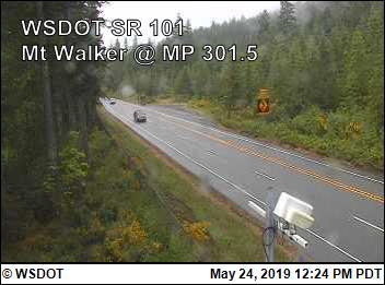 Mt Walker, SR-101@ 301.5 - Washington