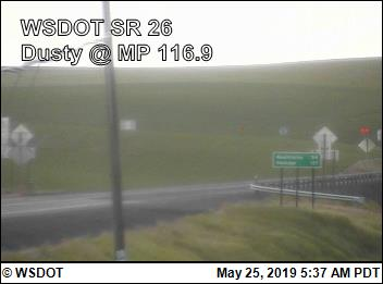 SR 26: Dusty @ MP 116.9 (5) - USA