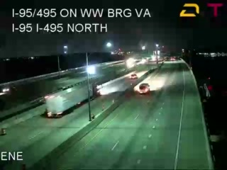 I-95/495 Woodrow Wilson Brdg (VA Side) (15280) - Washington DC