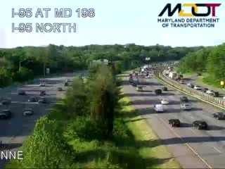 I-95 @ MD-198 (401689) - Washington DC