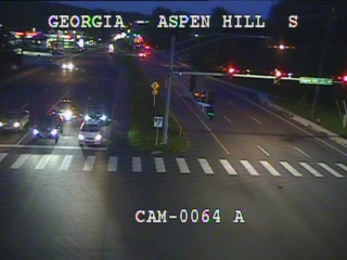 Georgia Ave (MD-97) @ Aspen Hill Rd (2110) - Washington DC