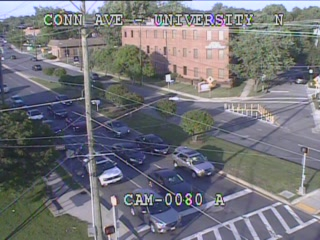 Connecticut Ave (MD-185) @ University Blvd (MD-193) (2192) - Washington DC