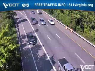 I-95 SB lanes @ Russell Rd (408020) - Washington DC