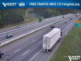 I-95 SB lanes n/o Russell Rd (408021) - Washington DC