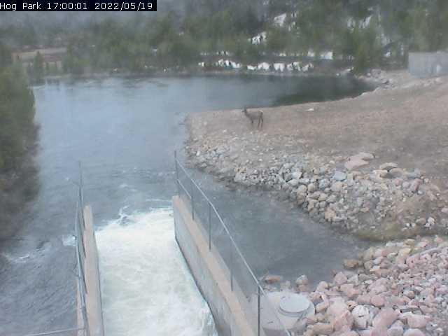 Hog Park Reservoir, WY - Wyoming