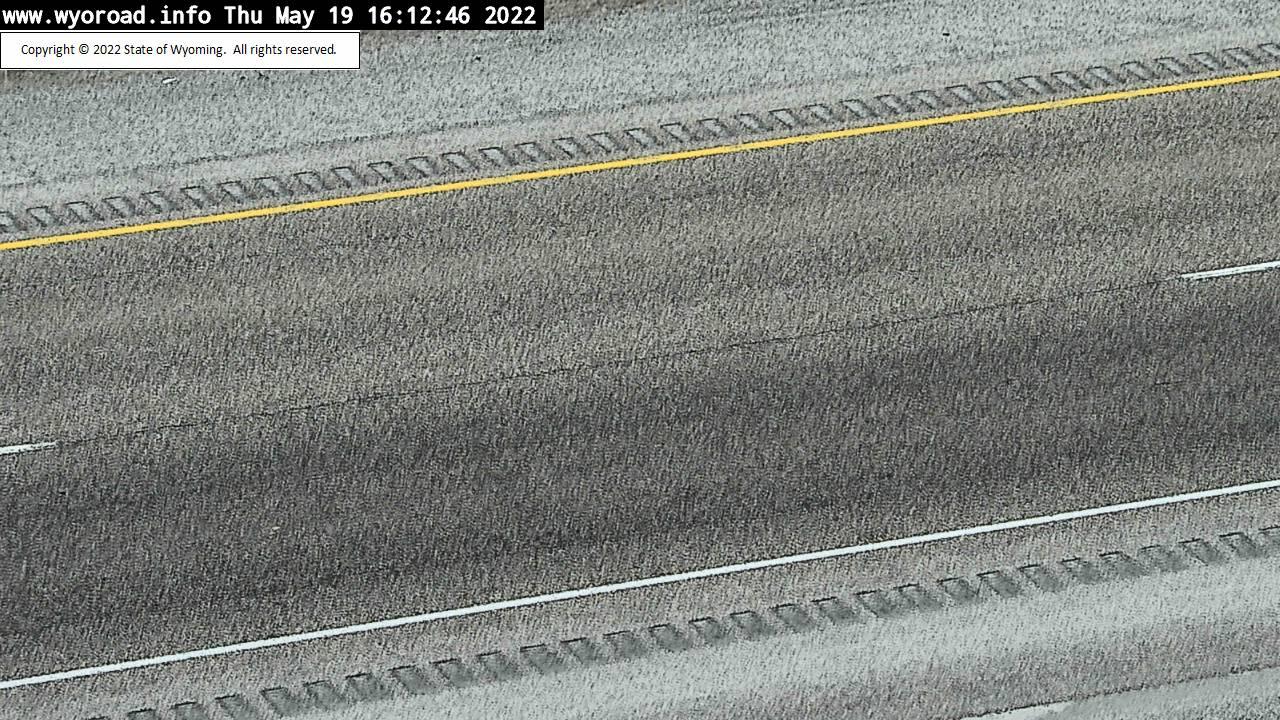 Walcott Junction - [I-80 Walcott Junction Road Surface] - Wyoming