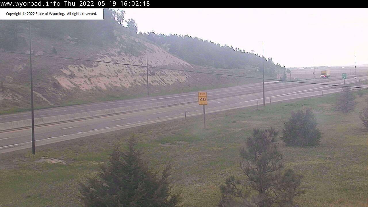 Pine Bluffs - [I-80 - Pine Bluffs - West] - Wyoming