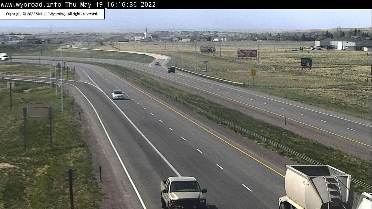 Laramie East - [I-80 Laramie West] - Wyoming