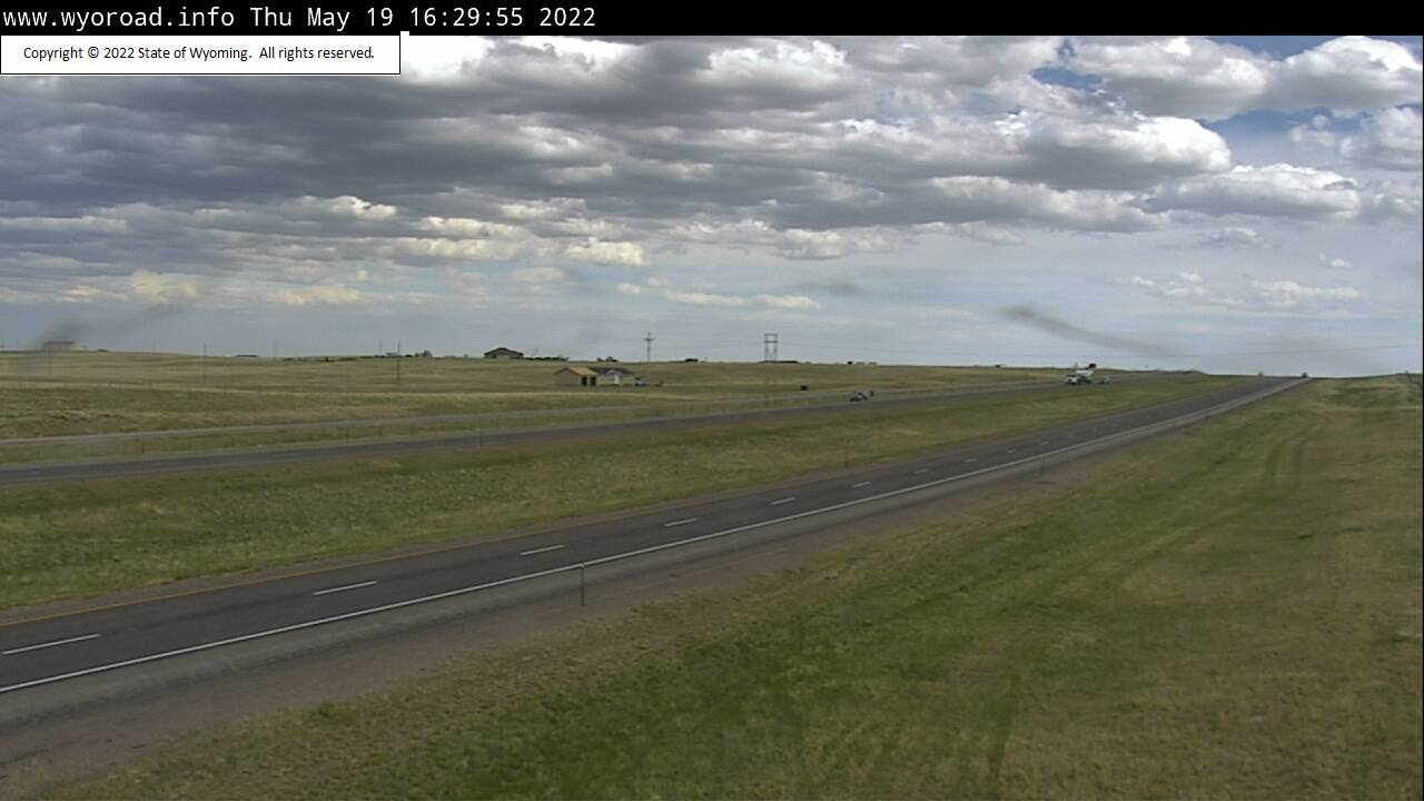 Cheyenne North - [I-25 Cheyenne North - Road Surface] - Wyoming ...