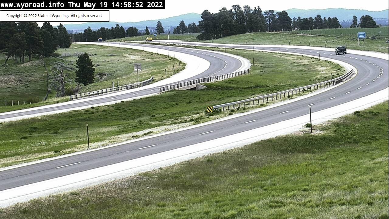 Inyan Kara - [I-90 Inyan Kara - East] - Wyoming