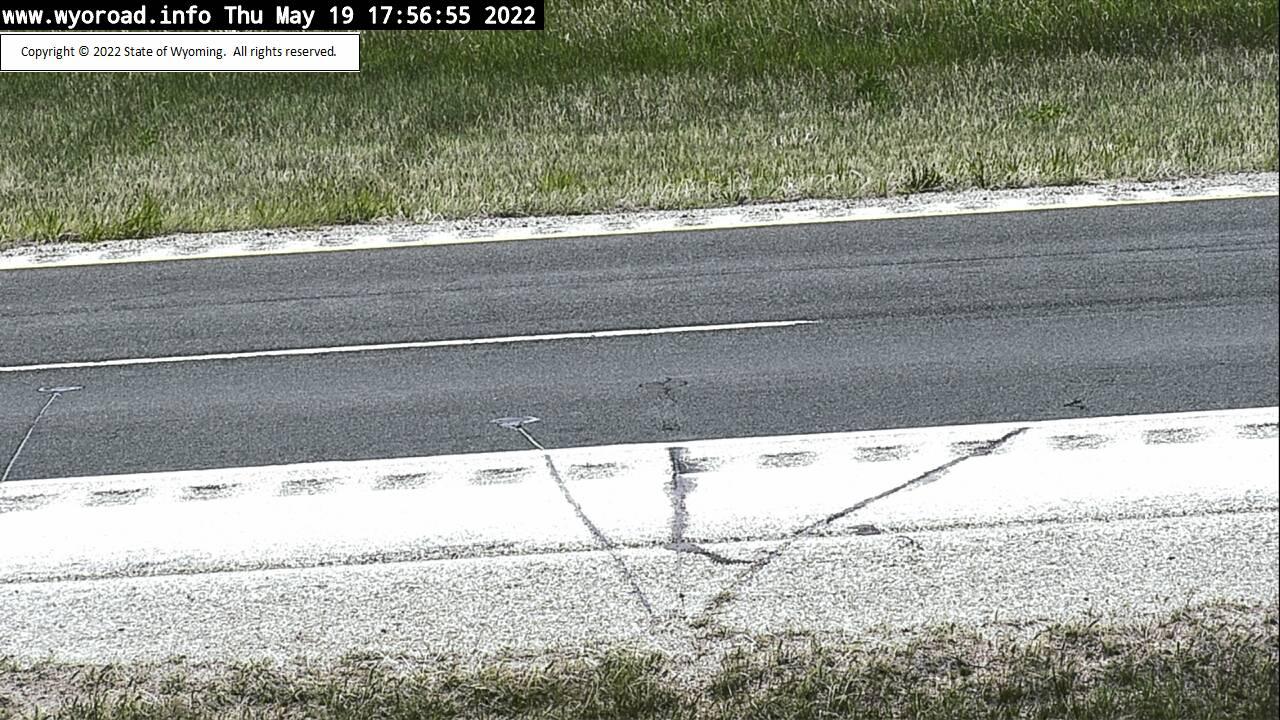 Inyan Kara - [I-90 Inyan Kara - Road Surface] - Wyoming