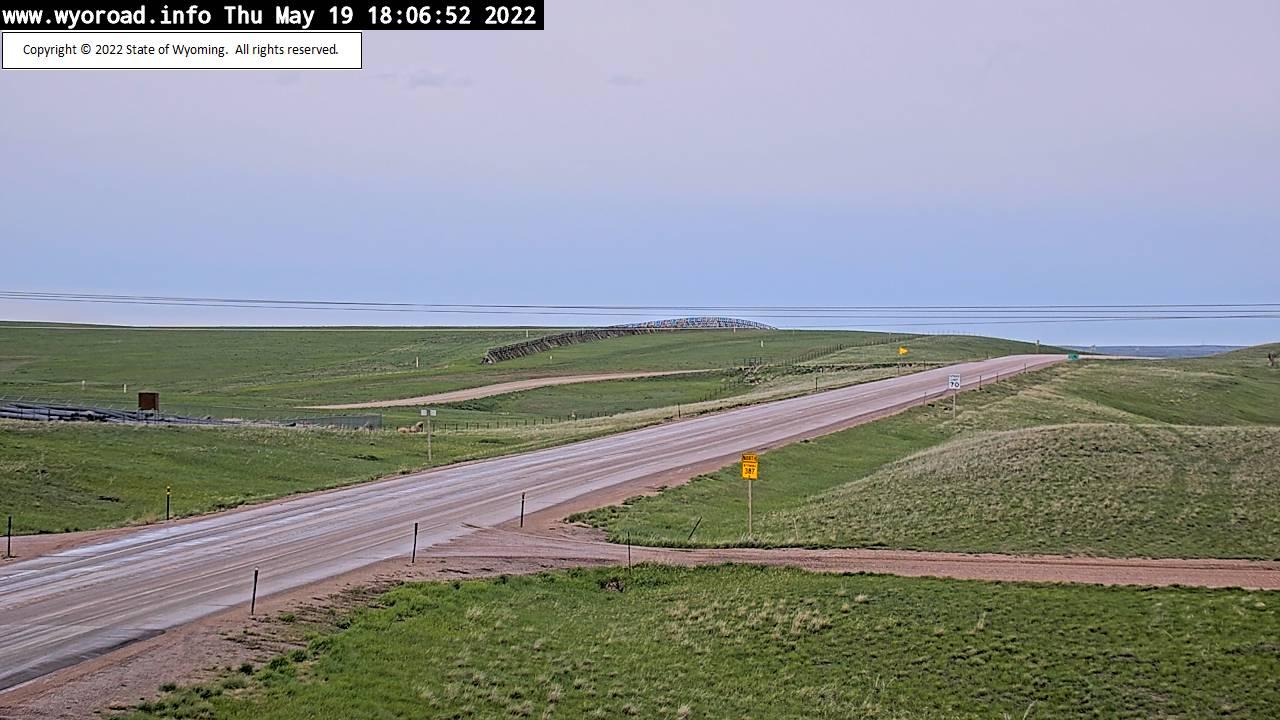 Pine Tree Junction - [WYO 387 Pine Tree Junction - East] - Wyoming