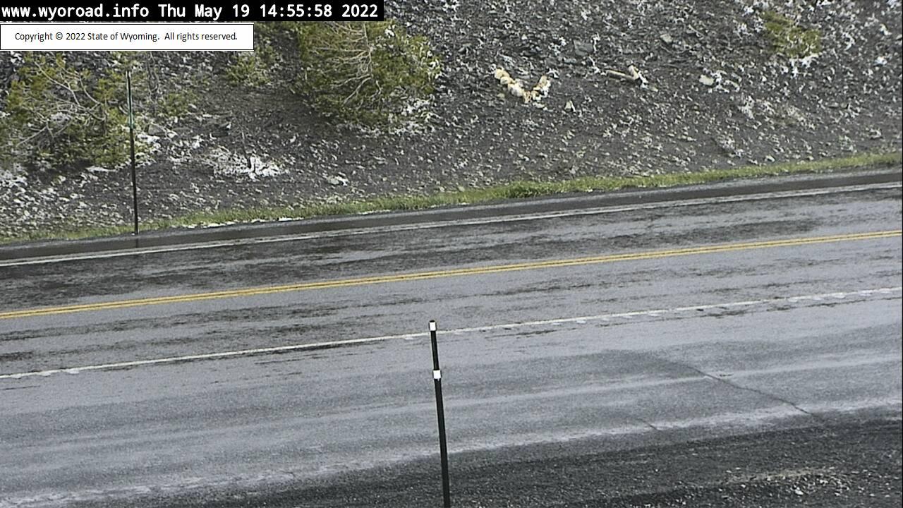 Louis Lake - [Louis Lake Road Surface] - Wyoming