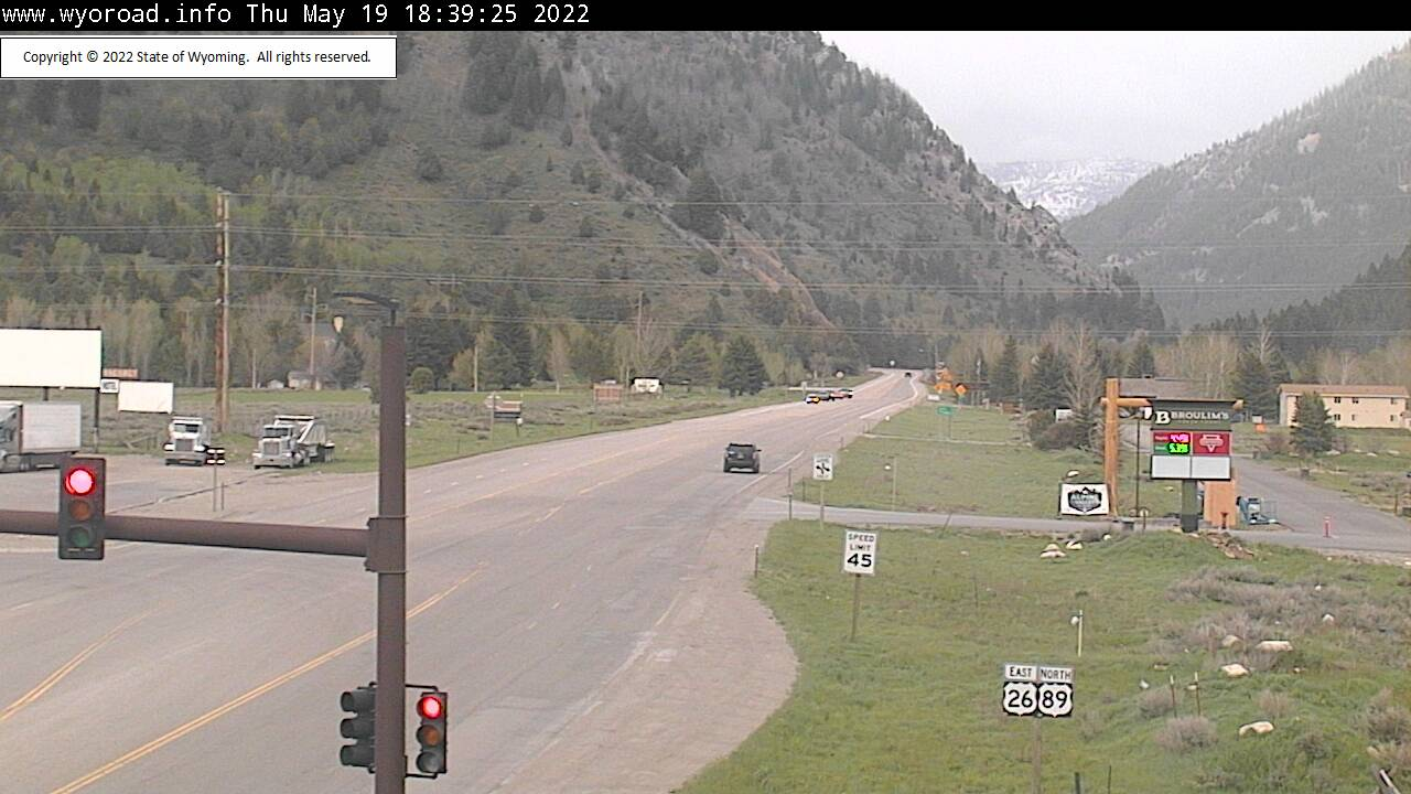 Alpine Junction - [US-89 Alpine Jct Canyon] - Wyoming