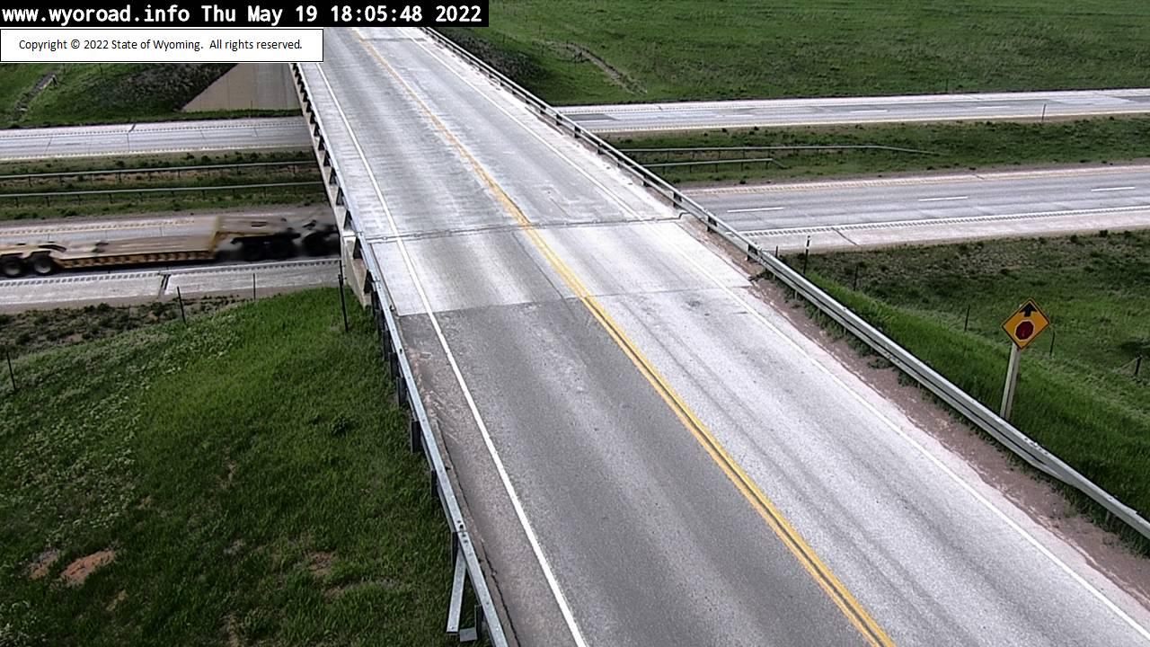 Beulah Interchange - [I-90 Beulah - Bridge] - Wyoming