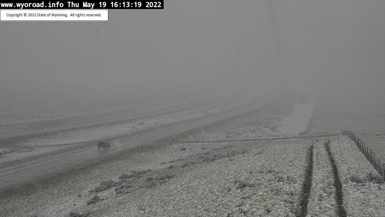 Twenty Mile Hill - [I-25 Twenty Mile Hill - South] - Wyoming