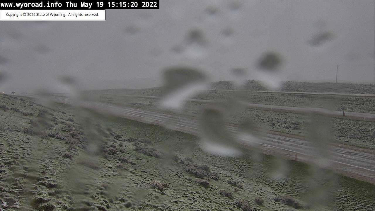 Twenty Mile Hill - [I-25 Twenty Mile Hill - North] - Wyoming
