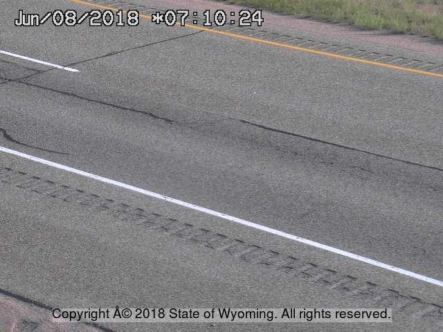 Fetterman - [I 90 Fetterman - Road Surface] - Wyoming